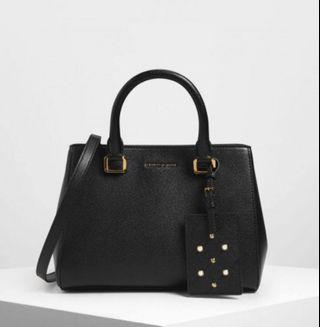 Charles & Keith Classic Top Handle Bag