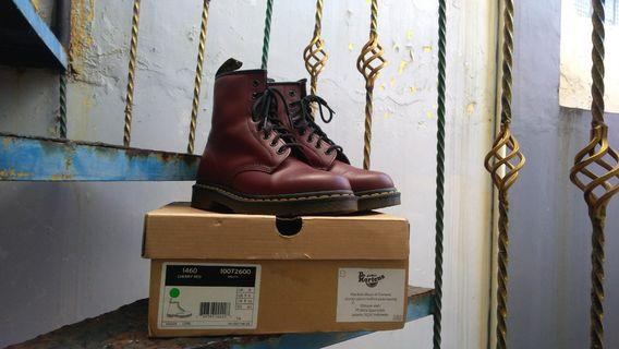 Dr Martens 1460 Red Cherry Smooth Leather