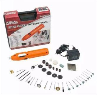Mini Electric Grinder, Driller, Polisher, Sander, Screwdrivers Cordless Drill Combo Kit. Electric Hand Drill.