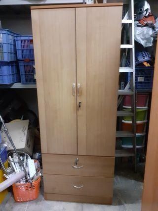 2 Door Wardrobe Cupboard