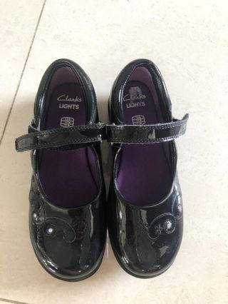 Girls Shoes Clark's light up leather