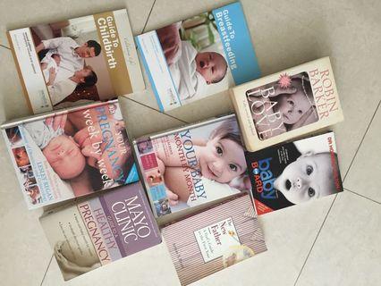 🚚 8 pregnancy baby feeding childbirth books