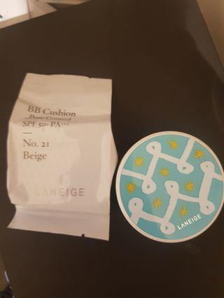 Laneige pore control cushion