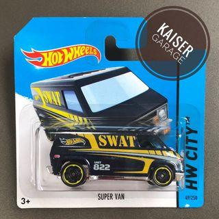 Hot Wheels : Super Van (Short Card)