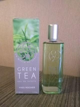 Francis Kurkdjian Green tea Yves Rocher