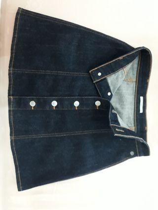 🚚 Branded Alexa Chung for AG denim skirt