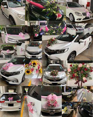 *CherishFlorist* Wedding Car Decoration