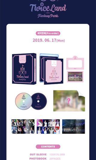 [PO] Twice 2nd Tour Twiceland Zone 2: Fantasy Park Blu-Ray