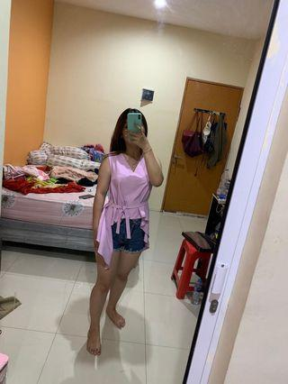 Baby pink top LabelEight