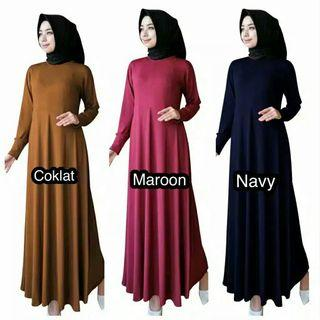 Gamis jersey busui