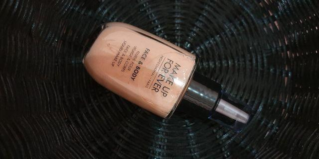 Make up for ever face and body liquid make up
