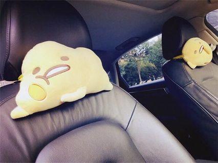Gudetama Sanrio head rest
