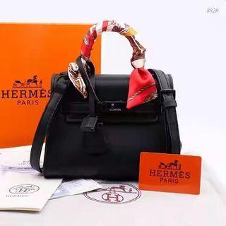 Tas Hermes Kelly So Black