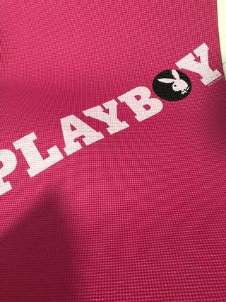 Playboy pink yoga sports mat good condition