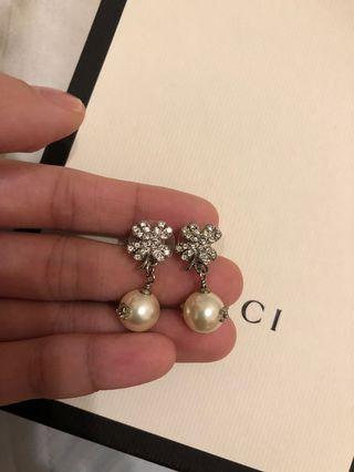 Chanel幸運草耳環