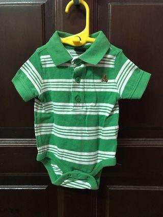 Baby Gap Romper (Green) 0-3m