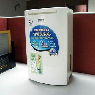 二手聲寶空氣清淨除濕機AD-BM121FT