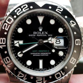Rolex GMT Master II 116710 full mint set!