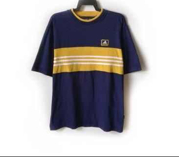 Vtg 90s Adidas Equipment Tshirt