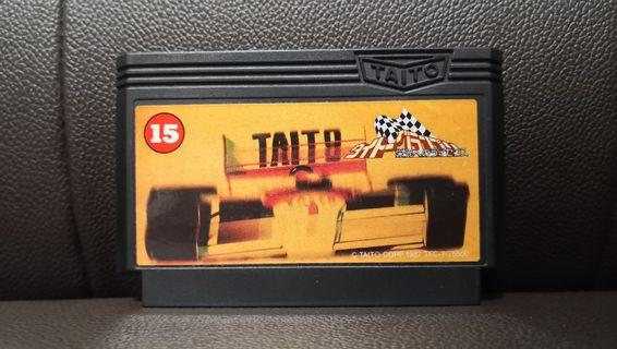 Taito F1 Race Grand Prix NES FC Nintendo Famicom Game 任天堂 紅白機 遊戲帶