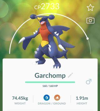 Garchomp!!! (Pokemon Go!)