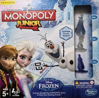 Monopoly 魔雪奇緣 Frozen 大富翁 Junior