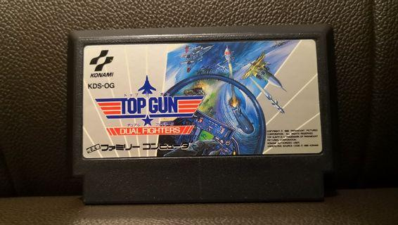 Top Gun Dual Fighter NES FC Nintendo Famicom Game 任天堂 紅白機 遊戲帶