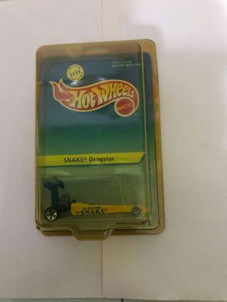 Hot wheels Snake Dragster Limited Edition