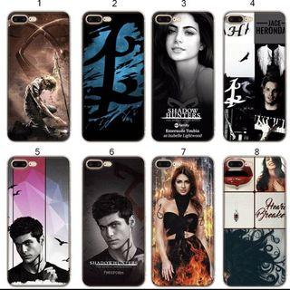 Shadowhunter iPhone casing