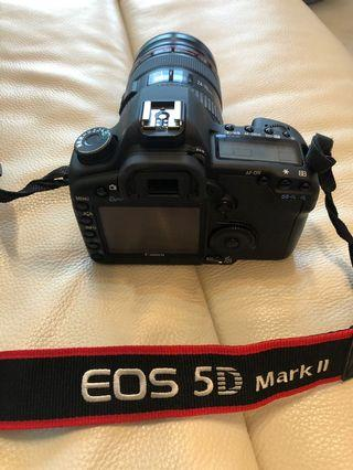 Canon DSLR 5D Mark II with 24-70mm and Flash Set