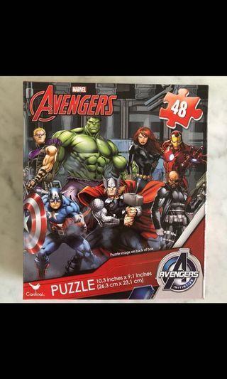 Avengers Puzzle Endgame Toy jigsaw ironman captain america hulk spiderman thor