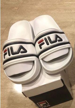 Fila Slides Drifter White US 9