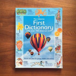 🚚 The Usborne first dictionary - words and ideas for young readers and writers