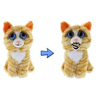 BRAND NEW Authentic Feisty Pets Animals DOOFUS Funny Weird Cat Princess Pottymouth Stuffed Soft Toy Angry Cute Face
