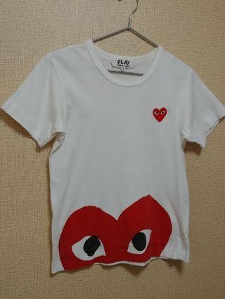 Comme des garcons play tee