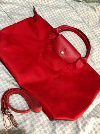 Longchamp Neo Red Medium