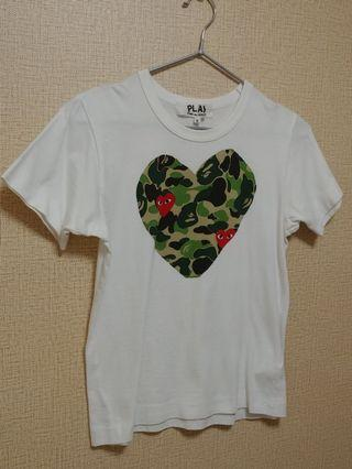 Comme des garcons paly tee