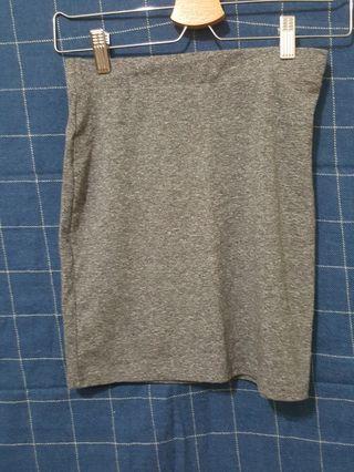 H&M灰色窄裙