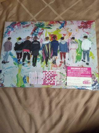 NCT 127 CHAIN ALBUM CD + DVD FIRST PRESS LIMITED