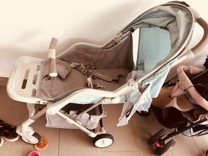 Belecoo baby compact onehand fold stroller