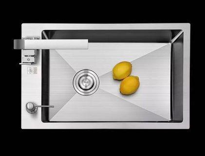 75x43 Stainless steel 304 -4mm kitchen sink
