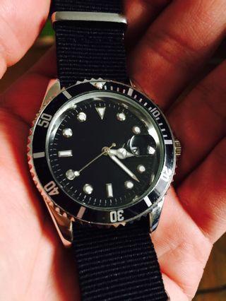 水鬼造型 指針 手錶