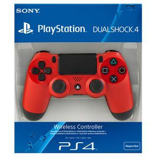 BRAND NEW With Sony Warranty Red PlayStation 4 PS4 Wireless Controller Play Station For Console Fat Slim Pro