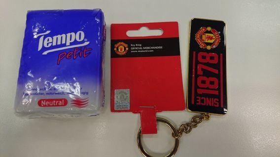 Key Ring/Manchester United/中古/曼聯/鎖匙扣
