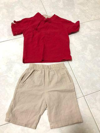 Chinese New Year Boy Outfit
