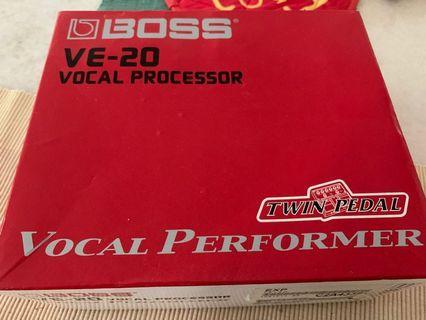 🚚 Boss ve-20 vocal processor