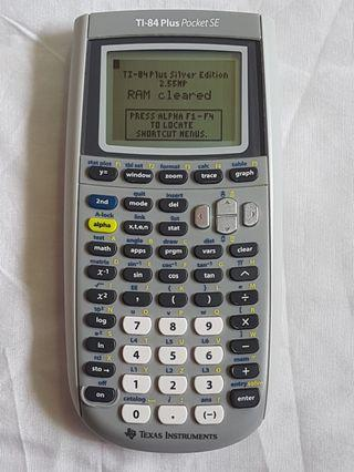Texas Instruments TI-84 Plus Pocket SE Graphing Calculator