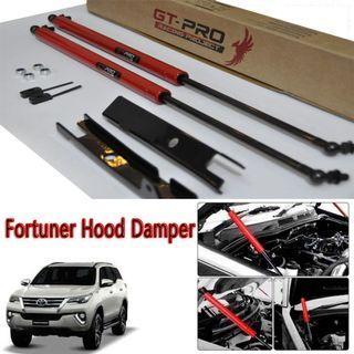 Toyota Fortuner 2016-2019 Hood Damper Bonnet Shock Kit GT-Pro RED
