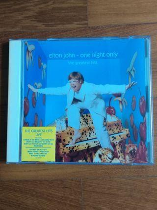 Elton John : One Night Only CD