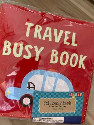 Felt Quiet / Busy Book Travel